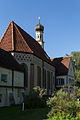 Obermenzing - Schloss Blutenburg - Kapelle - Außenansicht 004.jpg