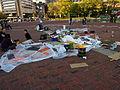 Occupy Baltimore at McKeldin Square October 2011 (Signs).JPG