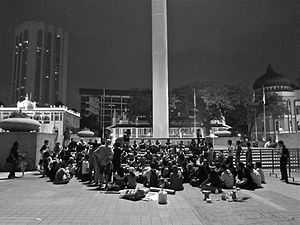 Occupy Dataran - Occupy Dataran assembly on the 15 October 2011 global protests