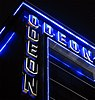 "Detail des Londoner Kinos ""Odeon Leicester Square"""