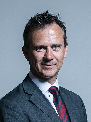 Minister of State for the Armed Forces - Image: Official portrait of Mark Lancaster crop 2