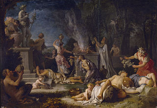 Offering to Bacchus