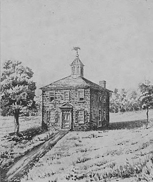 2nd Ohio General Assembly - Ohio's first statehouse at Chillicothe (1800)