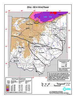Wind power in Ohio - Wikipedia on ohio indiana map, ohio hwy map, ohio canada map, ohio & kentucky road map, ohio new york map, ohio border, ohio ohio map, ohio georgia map, ohio ny map, ohio mi map, ohio wv map, ohio ri map, ohio w va map, ohio unemployment rates by county map,