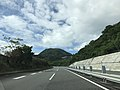 Oita Expressway near border of Oita City and Yufu City.jpg