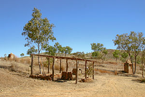 Halls Creek, Western Australia - Ruins of Old Halls Creek