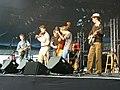 Old Crow Medicine Show Cambridge Music Festival Cambridge UK July 2005.jpg