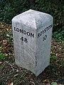 Old Milepost - geograph.org.uk - 1535326.jpg