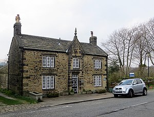 Chapeltown, Lancashire - Image: Old School House, Chapeltown