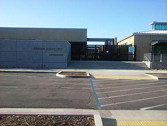 Olinda Elementary - The front of the Birch Street location