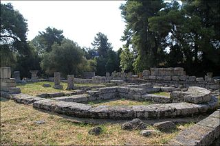 Bouleuterion of Ancient Olympia