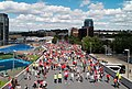Olympic Way from Wembley Stadium before FA Community Shield 2013 - panoramio.jpg