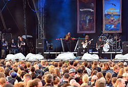 Opeth beim Elbriot 2015