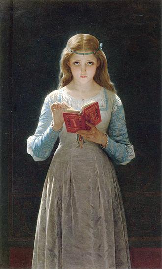 Pierre Auguste Cot - Ophelia, 1870