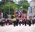 Orangemen parade in Bangor, 12 July 2010 - geograph - 1963238.jpg