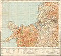 Ordnance Survey Quarter-inch sheet 10 North Wales and Lancashire, published 1957.jpg