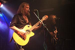 Sergey Kalugin - Sergey Kalugin on Saint Petersburg Orlandina club's stage on June 7, 2009