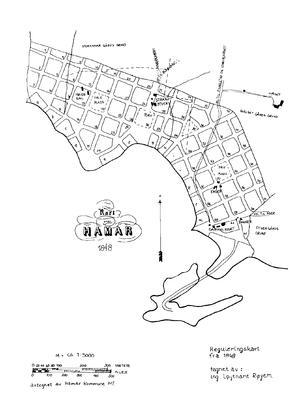 Hamar Wikipedia - Norway map hamar