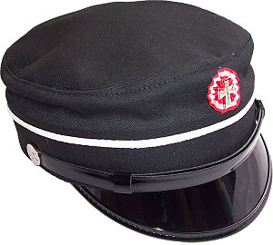 Student cap - The Danish black model, used in the late 19th century
