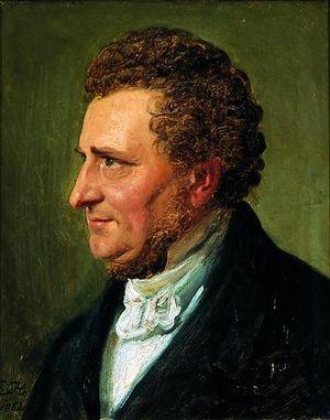 Orla Lehmann - Constantin Hansen, Portrait of Orla Lehmann, 1862
