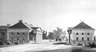 Gerhard Marcks House - The Gerhard Marcks House (Right) was part of a pair built in 1825.