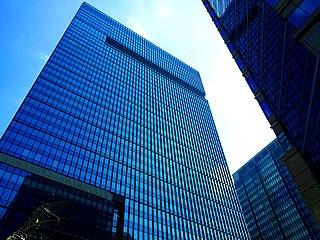 Otemachi Tower building in Chiyoda-ku, Tokyo, Japan