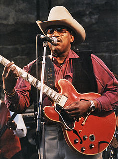 Otis Rush American blues guitarist