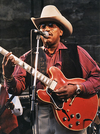 Otis Rush - Rush at the Notodden Blues Festival, Norway, 1997
