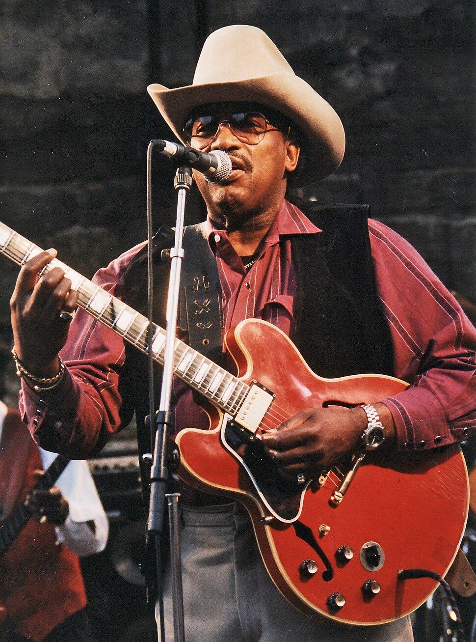 Otis Rush at Notodden bluesfestival