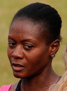 Merlene Ottey Jamaican-born Slovenian track athlete
