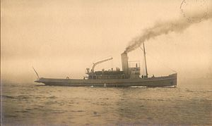 Ottoman minelayer Nusret with postmark.jpg
