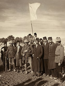 Ottoman surrender of Jerusalem, 1917