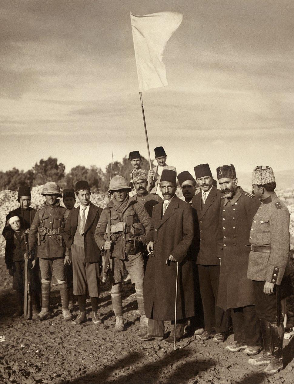Ottoman surrender of Jerusalem restored