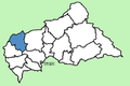 Ouham-Pendé Prefecture Central African Republic locator.png