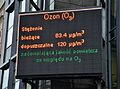 Ozon Komunikat o jakości powietrza w Katowicach 7.10.2011 godz. 9.10.JPG