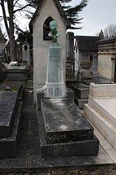 Tomb of Léon Comerre (1850-1916)