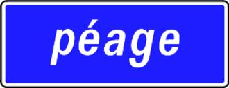 A40 autoroute - Image: Péage