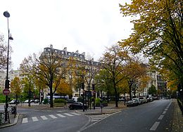 Place Martin-Nadaud (automne 2011).