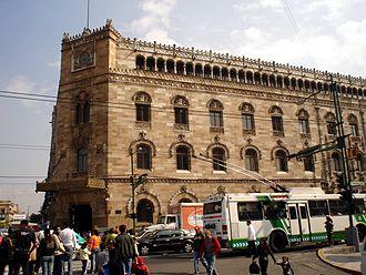Adamo Boari - Palacio Postal or Palacio de Correos Mexico City