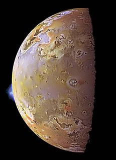 Volcanology of Io volcanology of Io, a moon of Jupiter