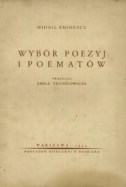 File:PL Eminescu - Wybór poezji i poematów.djvu
