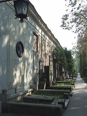 Powązki Cemetery - Image: PL Warsaw Stare Powązki aleja zasluzonych
