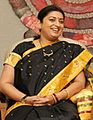 PM Modi and HRD Minister Smriti Irani at an informal interaction with Awardee Teachers (cropped).jpg