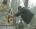 PM Modi paid homage to the martyrs, at the Badami Bagh headquarters of the Indian Army.png