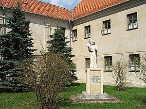 Sierpc - Courtyard of the Benedictine monastery