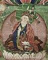 Padmasambhava art detail (bottom center), from- Bhaisajyaguru (the Medicine Buddha) and Padmasambhava Wellcome L0015305 (cropped) (cropped).jpg