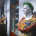 Painted busts of Roman Emperors, Victoria and Albert Museum.jpg
