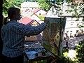 Painter Maira Veisbarde in Kandava - panoramio.jpg