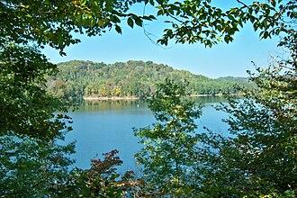 Paintsville Lake - Image: Paintsville Lake framed