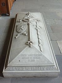 Paisley Abbey 20120410 tomb of Robert III.jpg